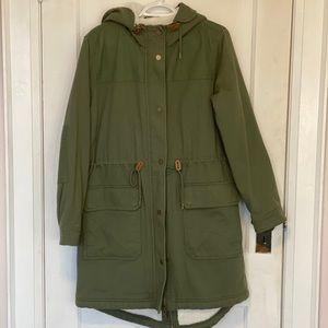 BNWT army green GAP jacket